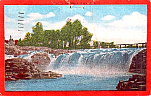 Sioux Falls SD The Falls p38555 (Image1)