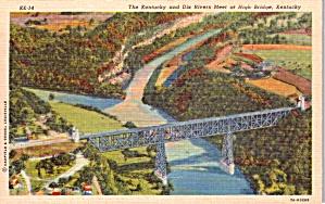 Kentucky and Dix Rivers High Bridge Kentucky p38558 (Image1)