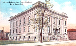 Terre Haute In Indiana State Normal School P38576