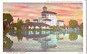 Colorado Springs Co Broadmoor Hotel P38581
