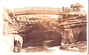 Bridge Over Cave Entrance Rppc P38606