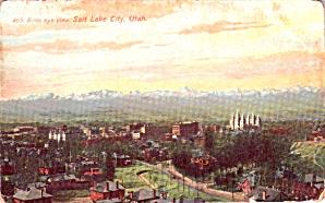 Salt Lake City UT Aerial View p38627 (Image1)