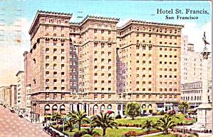 San Francisco CA St Francis Hotel p38633 (Image1)
