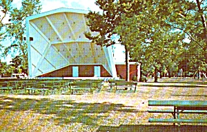 Geneseo Band Stand  IL Postcard  8665 (Image1)
