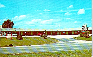Geneseo Illinois Oakwood Motel Postcard P38700