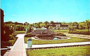 University of Iowa Footbridge Across the Iowa River p38706 (Image1)