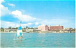 Princess Hotel Pembroke Bermuda Postcard p3871 (Image1)
