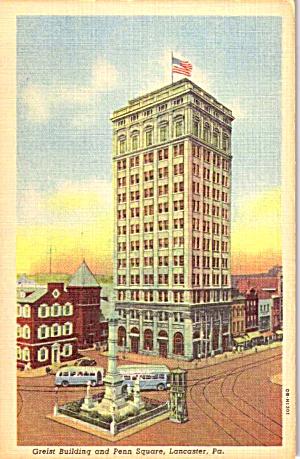 Lancaster PA Greist Building and Penn Square p38732 (Image1)