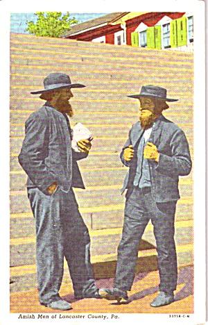 Lancaster County PA Amish Men p38737 (Image1)