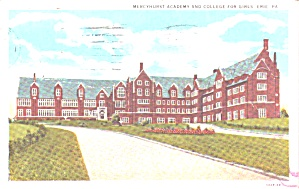 Erie Pa Mercyhurst Academy And College For Girls P38753