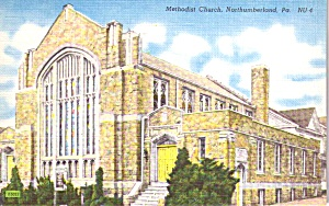 Northumberland PA Methodist Church  p38756 (Image1)