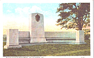 Valley Forge PA Massachusetts Memorial p38759 (Image1)