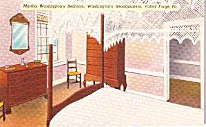 Valley Forge PA Martha Washington s Bedroom p38761 (Image1)