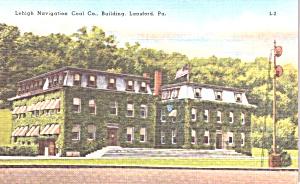 Lansford PA Lehigh Navigation Coal Co Building p38772 (Image1)