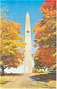 Bennington VT Battle Monument Postcard (Image1)