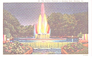 Hershey PA The Electric Fountain Hershey Park p38792 (Image1)