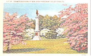 Valley Forge PA New Jersey Monument p38793 (Image1)