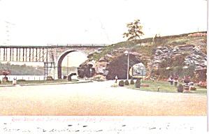 Philadelphia PA  Fairmont Park River Drive and Tunnel p38797 (Image1)