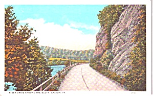Easton PA  River Drive Around the Bluff p38798	 (Image1)