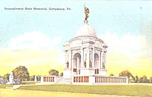 Gettysburg PA Pennsylvania State Memorial p38816 (Image1)