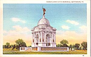 Gettysburg PA Pennsylvania State Memorial p38818 (Image1)