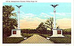 Valley Forge PA Pennsylvania Column p38819 (Image1)