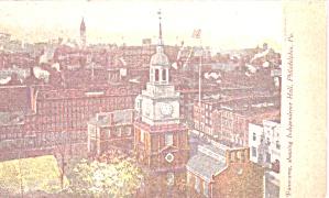 Philadelphia PA Panorama Showing Independence Hall p38831 (Image1)