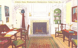 Valley Forge PA Washington s Hdqts Orderly Room p38855 (Image1)