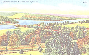 Natural Inland Lake Of Pennsylvania P38849