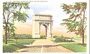 Valley Forge Pa National Memorial Arch P38850