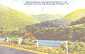 Pennsylvania Mountain Scenery On Us 120 P38853