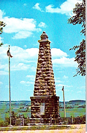 Kent IL Pioneers Blackhawk Battle Monument p38861 (Image1)