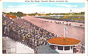 Churchill Downs Ky Derby Day Races P38865
