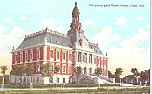Grand Island Ne Hall County Court House P38904