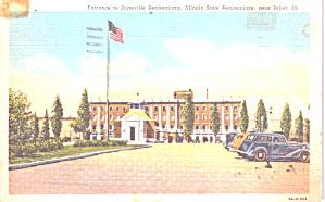 Joliet IL Entrance Stateville Peniteniary p38925 (Image1)