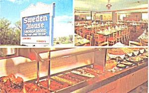 Sweden House Smorgasbord Restaurants P38936