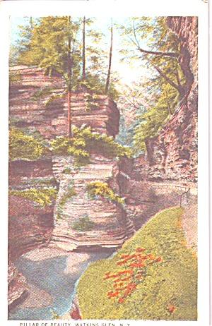 Watkins Glen NY Pillar  of Beauty in Finger Lakes p38975 (Image1)