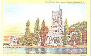 Thousand Islands Ny Alster Tower Heart Island P39010