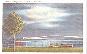 Dunkirk NY Harbor at Night on Lake Erie p39018 (Image1)