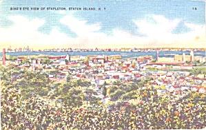 Stapleton, Staten Island NY Aerial View p39038 (Image1)