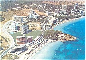 Coastline Palma NO Mallorca Spain Postcard p3911 (Image1)