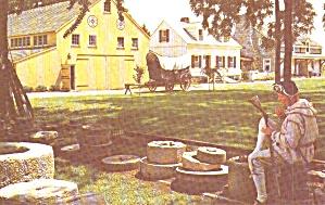 Landis Valley PA PA Farm Museum Conestoga Wagon  p39173 (Image1)