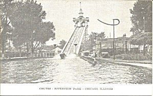 Chicago Il Riverview Park Chutes P39182