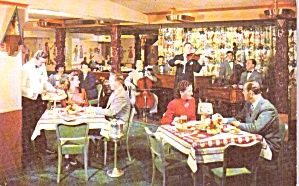 Chicago Il Bismark Hotel Swiss Chalet Dining Room P39197