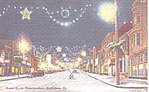 Bethlehem  PA Broad Street at Christmastime p39203 (Image1)