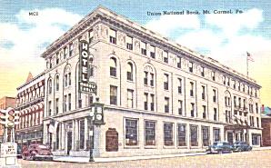 Mt Carmel PA United National Bank  p39238 (Image1)