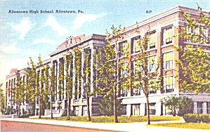 Allentown PA  Allentown High School  p39239 (Image1)