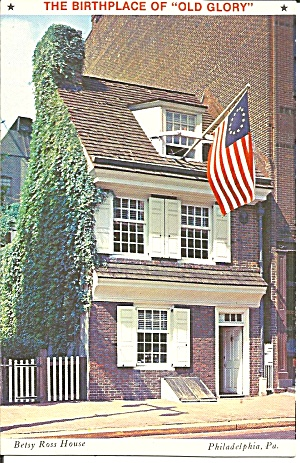Philadelphia PA Betsy Ross House Birthplace of Old Glory p39256 (Image1)