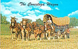 Lancaster County PA Conestoga Wagon p39264 (Image1)