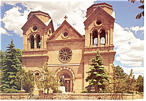 Cathedral of St Francis of Assisi  NM Postcard p3928 (Image1)